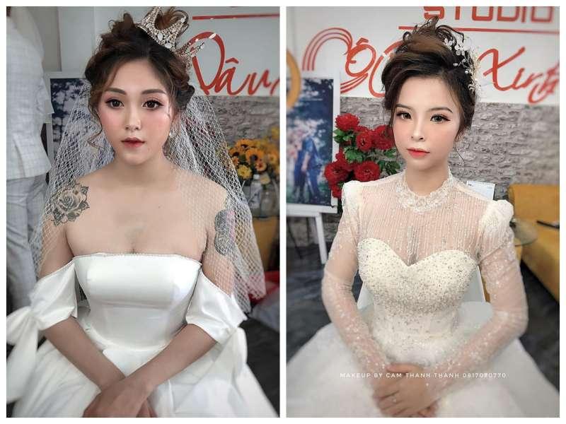 Top 10 Địa Chỉ Trang Điểm Cô Dâu Đẹp Xuất Sắc Tại Nha Trang -  - Chang Make Up | Cường Trần Studio | Lyn Artist 29