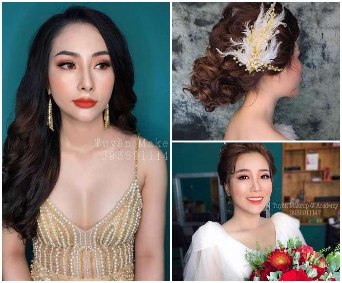 Top 10 Địa Chỉ Trang Điểm Cô Dâu Đẹp Xuất Sắc Tại Nha Trang -  - Chang Make Up | Cường Trần Studio | Lyn Artist 23