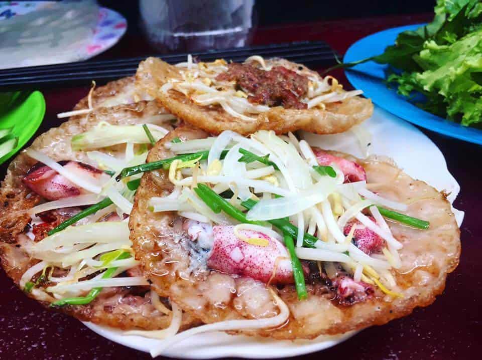 Top 7 Địa Chỉ Ăn Bánh Xèo Mực Đặc Biệt & Độc Đáo Ở Nha Trang -  - Bánh Xèo 10A Huỳnh Thúc Kháng | Bánh Xèo Bạch Đằng | Bánh Xèo Bình Dân Đường 2/4 15