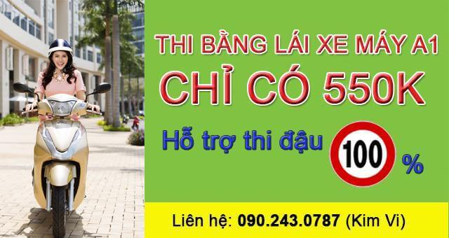 - Dịch Vụ Đào Tạo Bằng Lái Xe A1 Tại TP HCM