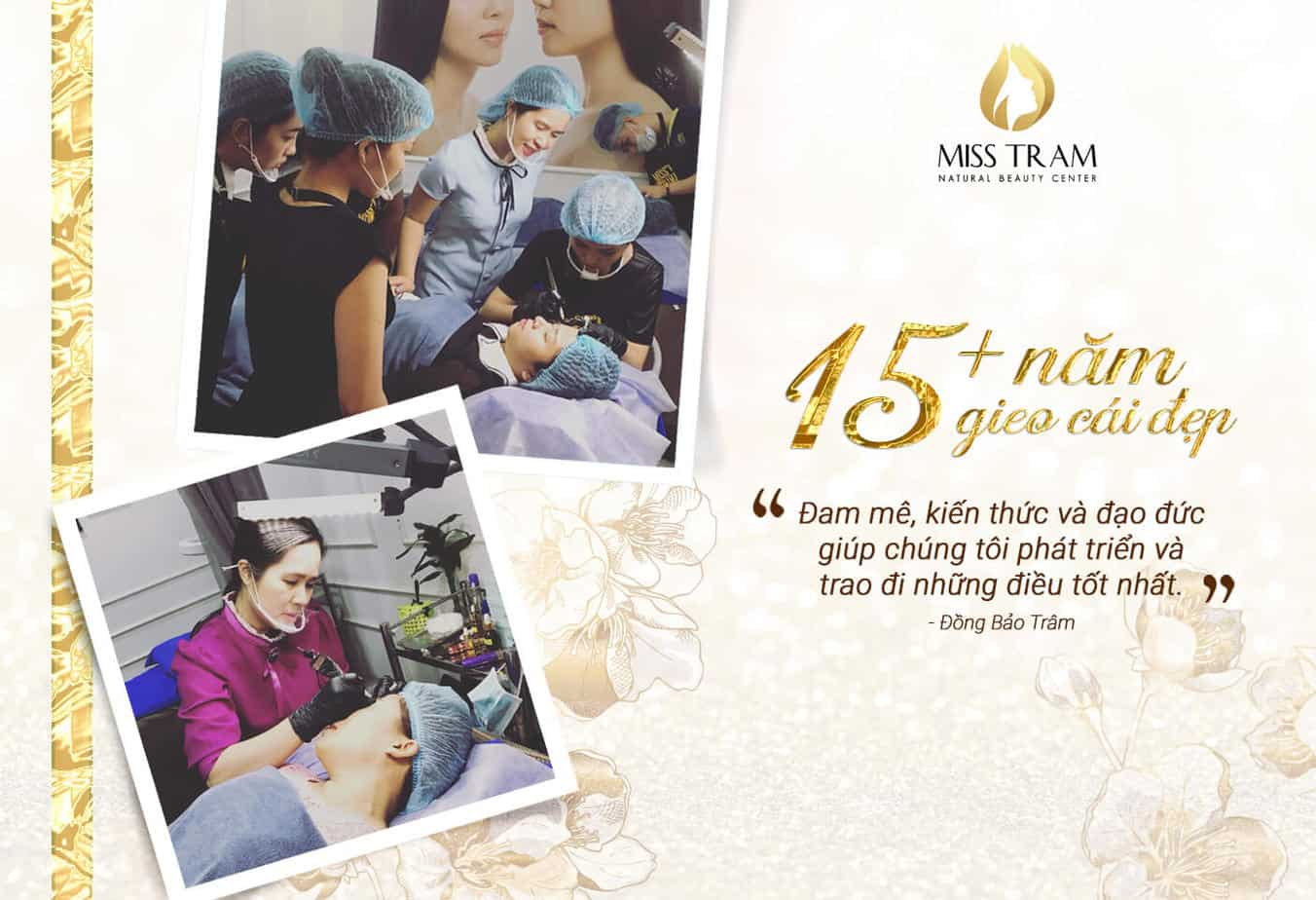 - 8 Lý Do Nên Chọn Học Phun Xăm Thẩm Mỹ Tại Miss Tram Academy