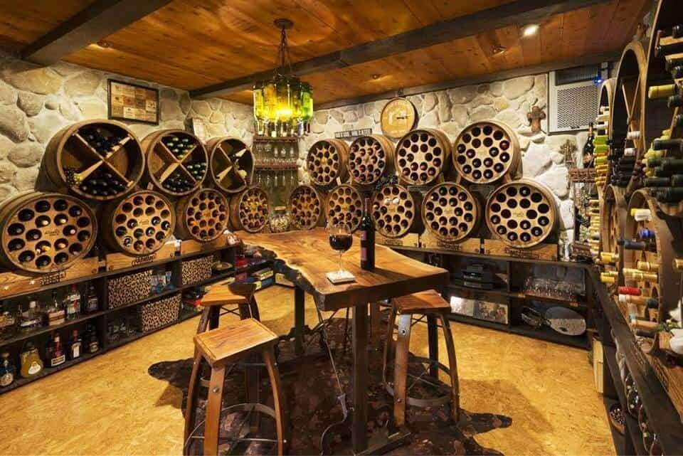 Top 9 Lưu Ý Khi Thiết Kế Nội Thất Hầm Rượu, Tủ Rượu -  - mẫu hầm rượu đẹp | Mẫu thiết kế nội thất đẹp | mẫu tủ rượu đẹp 23