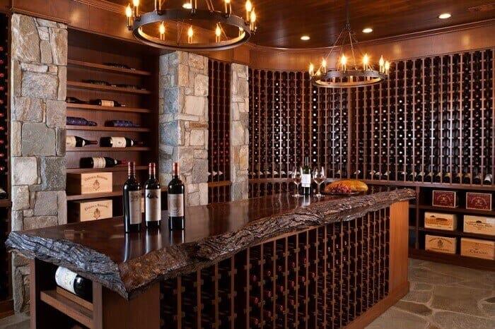 Top 9 Lưu Ý Khi Thiết Kế Nội Thất Hầm Rượu, Tủ Rượu -  - mẫu hầm rượu đẹp | Mẫu thiết kế nội thất đẹp | mẫu tủ rượu đẹp 41
