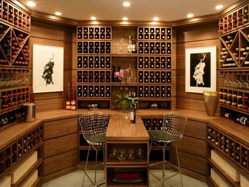 Top 9 Lưu Ý Khi Thiết Kế Nội Thất Hầm Rượu, Tủ Rượu -  - mẫu hầm rượu đẹp | Mẫu thiết kế nội thất đẹp | mẫu tủ rượu đẹp 27