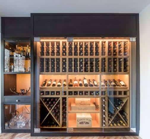 Top 9 Lưu Ý Khi Thiết Kế Nội Thất Hầm Rượu, Tủ Rượu -  - mẫu hầm rượu đẹp | Mẫu thiết kế nội thất đẹp | mẫu tủ rượu đẹp 31