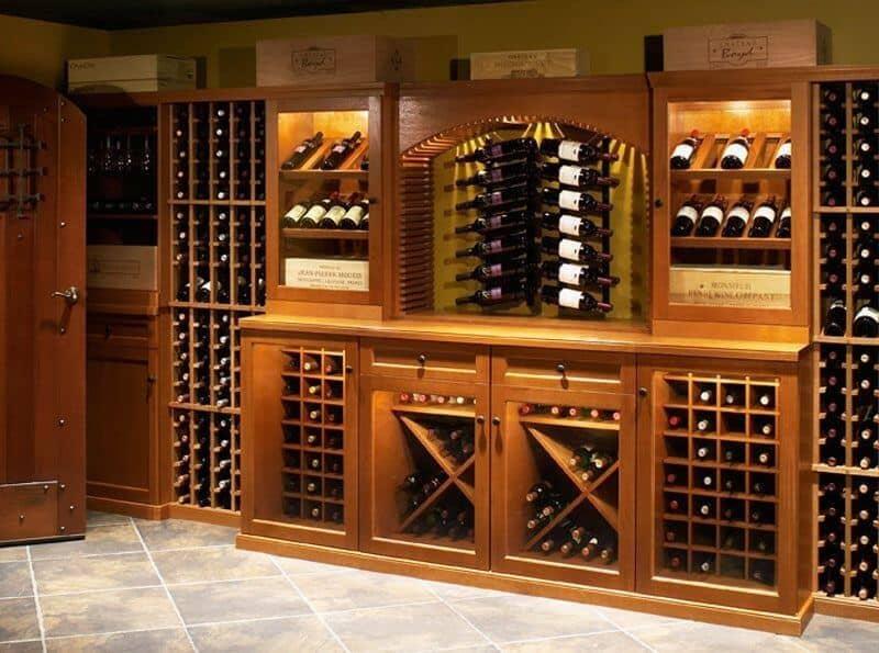 Top 9 Lưu Ý Khi Thiết Kế Nội Thất Hầm Rượu, Tủ Rượu -  - mẫu hầm rượu đẹp | Mẫu thiết kế nội thất đẹp | mẫu tủ rượu đẹp 37
