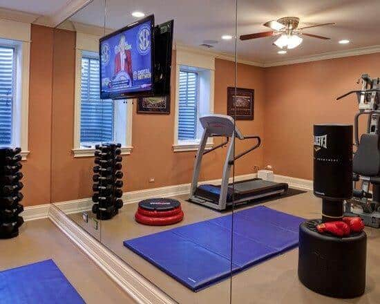 - Top 8 Lưu Ý Khi Thiết Kế Nội Thất Phòng Tập Thể Dục, Gym Tại Nhà