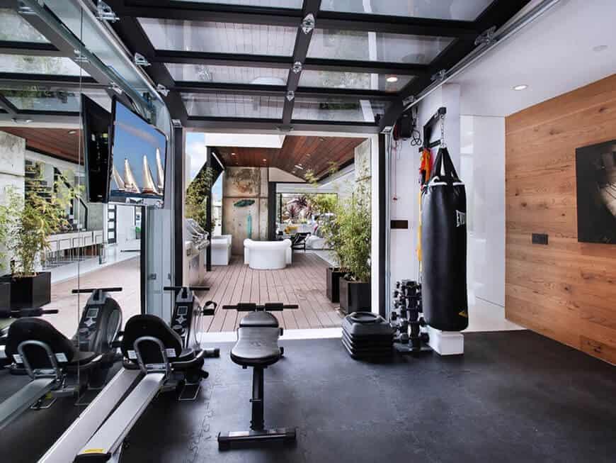 Top 8 Lưu Ý Khi Thiết Kế Nội Thất Phòng Tập Thể Dục, Gym Tại Nhà -  - mẫu phòng gym đẹp | Mẫu thiết kế nội thất đẹp 23