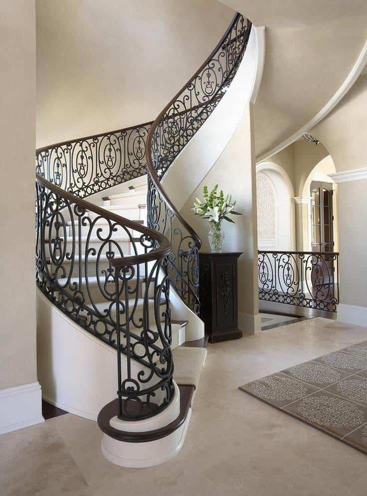 Top 8 Lưu Ý Khi Thiết Kế Nội Thất Cầu Thang, Lan Can -  - lưu ý khi thiết kế lan can | thiết kế nội thất cầu thang 17