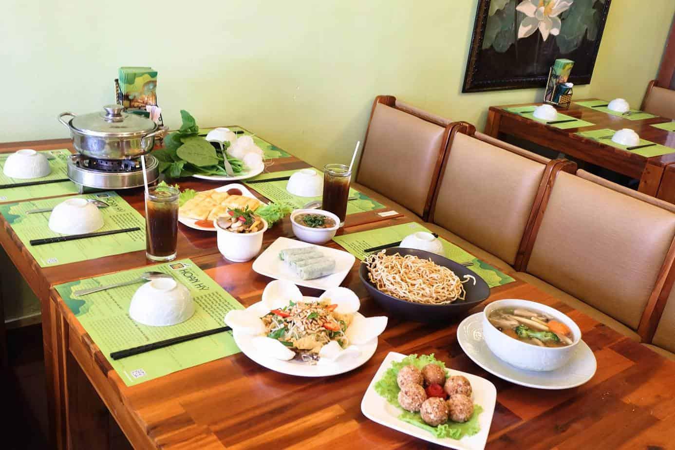 Review Nhà Hàng Nhà Hàng Thuần Chay Hoan Hỷ Quận 3 HCM