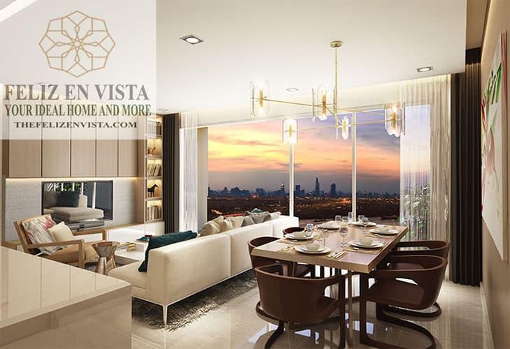 thiết kế nội thất Feliz En Vista