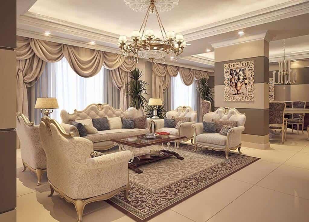 thiết kế nội thất cao cấp luxury
