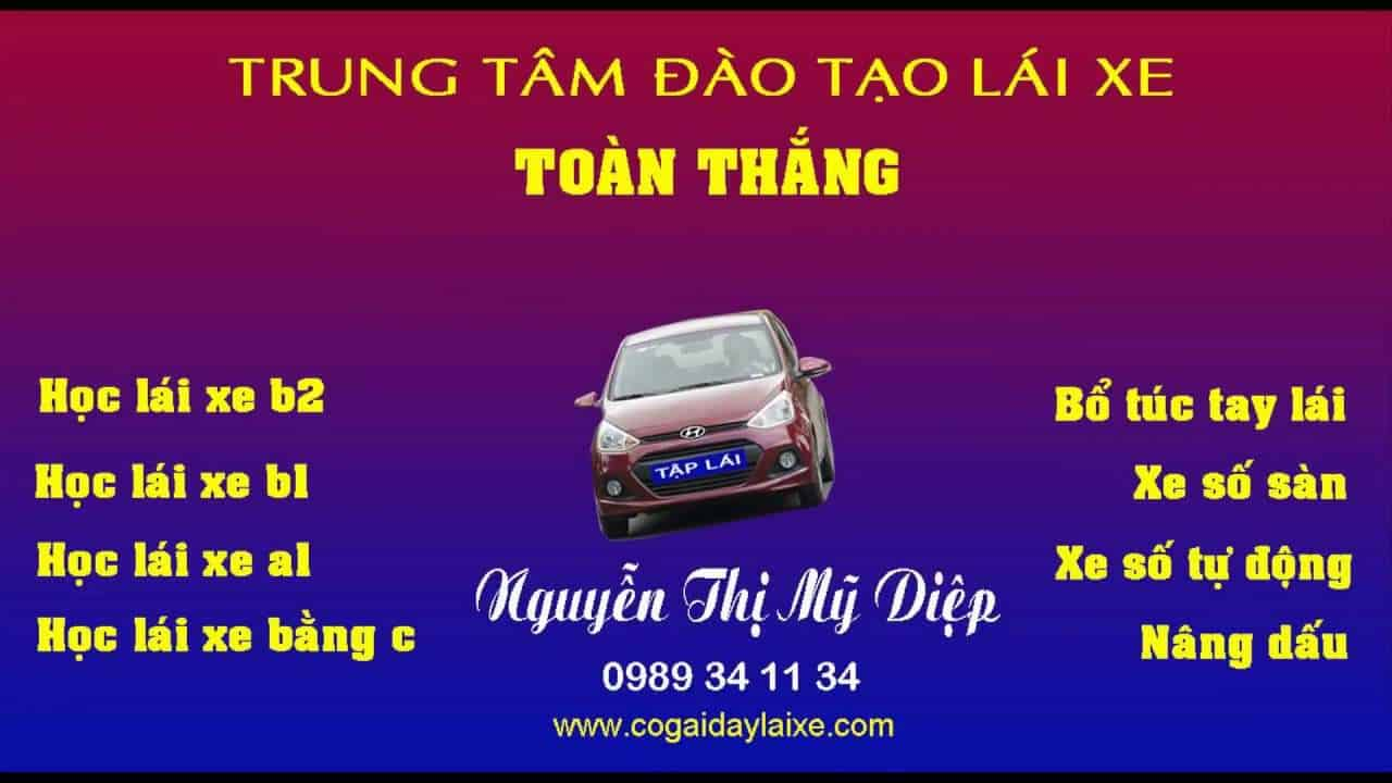 dịch vụ bổ túc lái xe ô tô uy tín