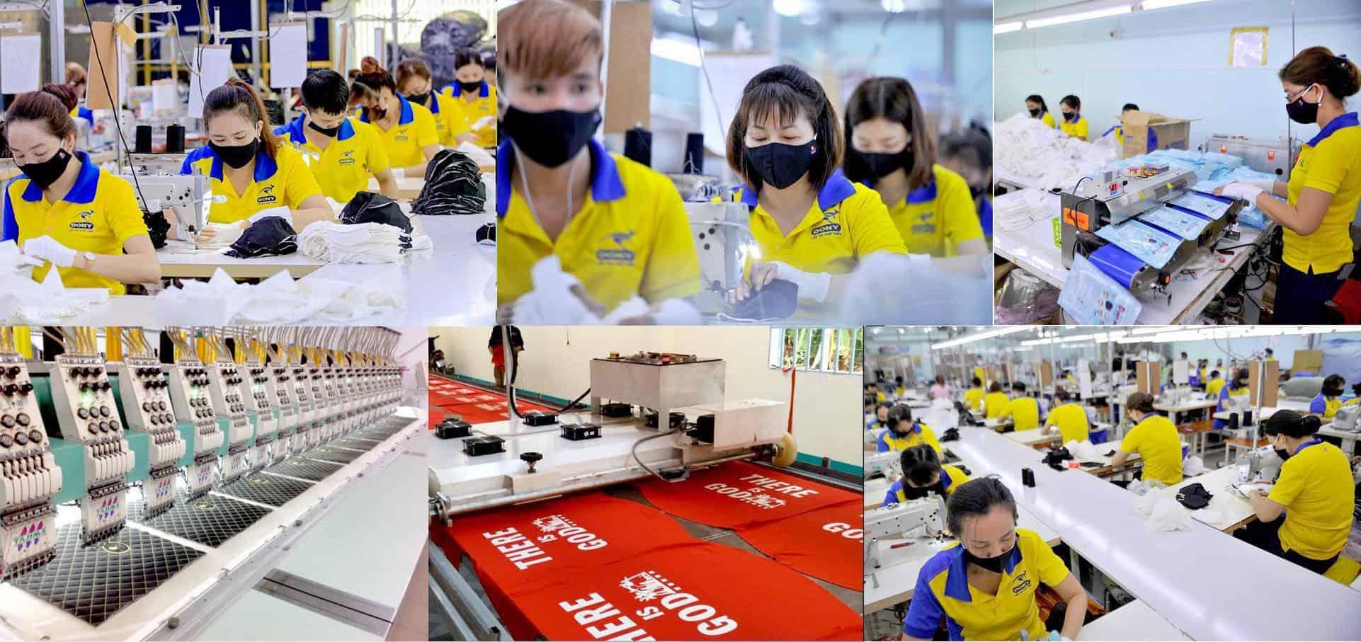 Top 7 Địa Chỉ May Đồng Phục, In Thêu Áo Thun ở Khánh Hòa -  - Công ty cổ phần quốc tế Dony | Đồng phục An Mii | Đồng phục Trường Sinh 33
