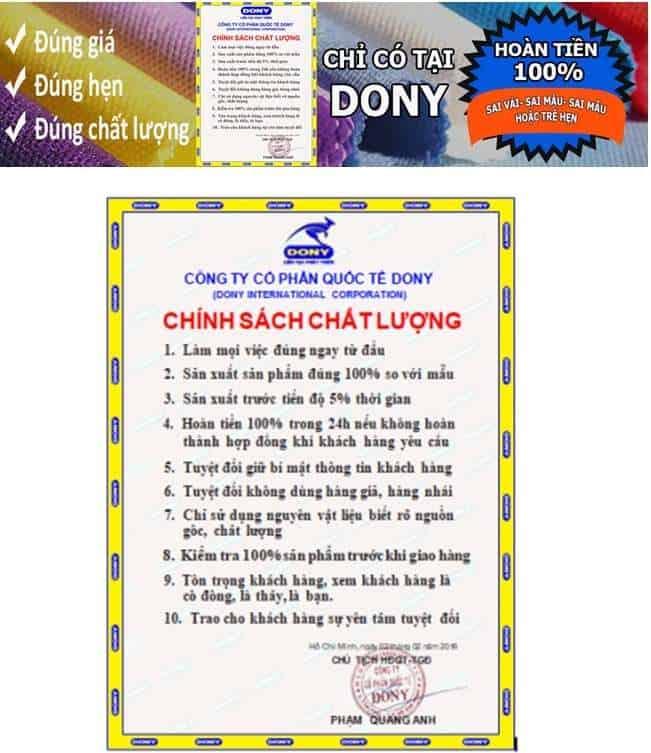 Top 5 Nơi May Đồng Phục, In Thêu Áo Thun Ở Điện Biên -  - Công ty cổ phần quốc tế Dony | Điện Biên | Đồng phục Ong Vàng 15