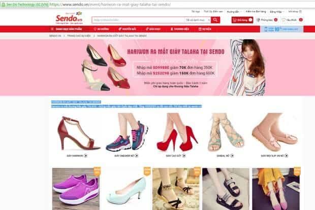 - Top 9 Trang Web Bán Giày Uy Tín Nhất