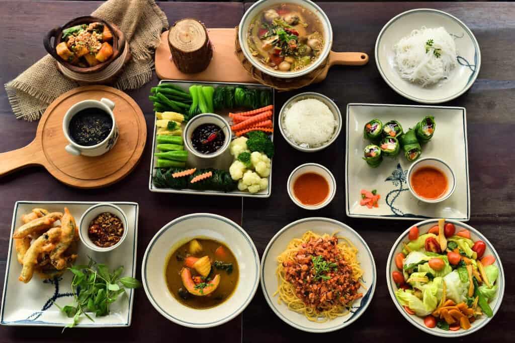 Top 7 Quán Chay Ngon Tại Quận Bình Thạnh -  - Cơm chay Ngọc Ý | Nhà hàng chay Âu Lạc Healthy Farm | Nhà Hàng Chay Here & Now Vegetarian 43