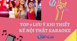 Top 9 Lưu Ý Khi Thiết Kế Nội Thất Karaoke