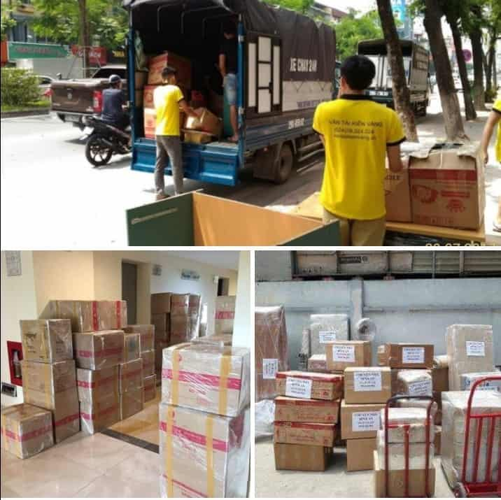 Kiến Vàng: Dịch vụ chuyển nhà uy tín, an toàn tại Cầu Giấy