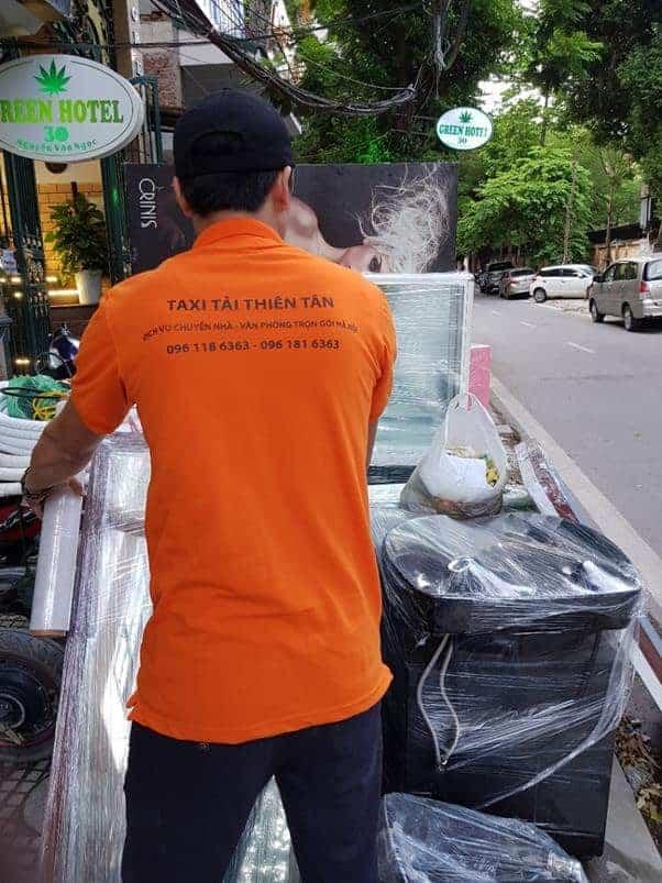 Vận chuyển nhà Thiên Tân