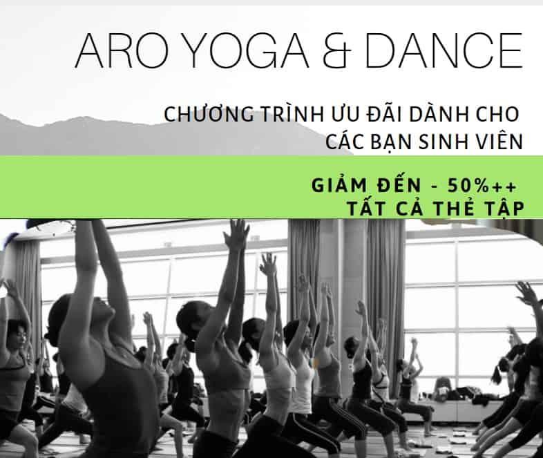 Aro Yoga & Dance phòng tập yoga uy tín tại Đà Nẵng