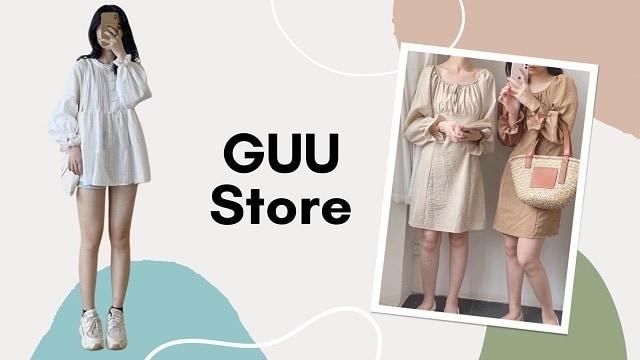 shop thời trang nữ Guu Store