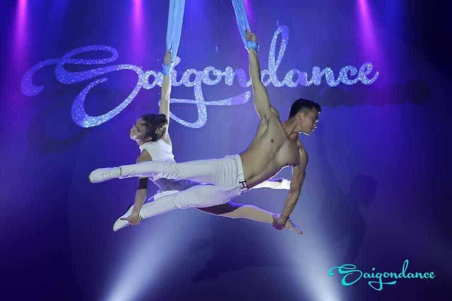 học múa lụa ở saigon dance