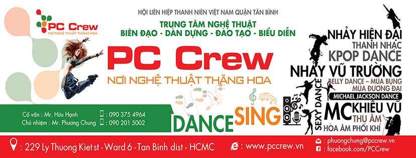 học múa lụa ở PC Crew