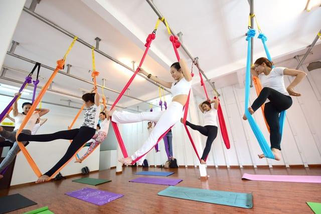 Địa chỉ tập yoga bay uy tín tại Đà Nẵng