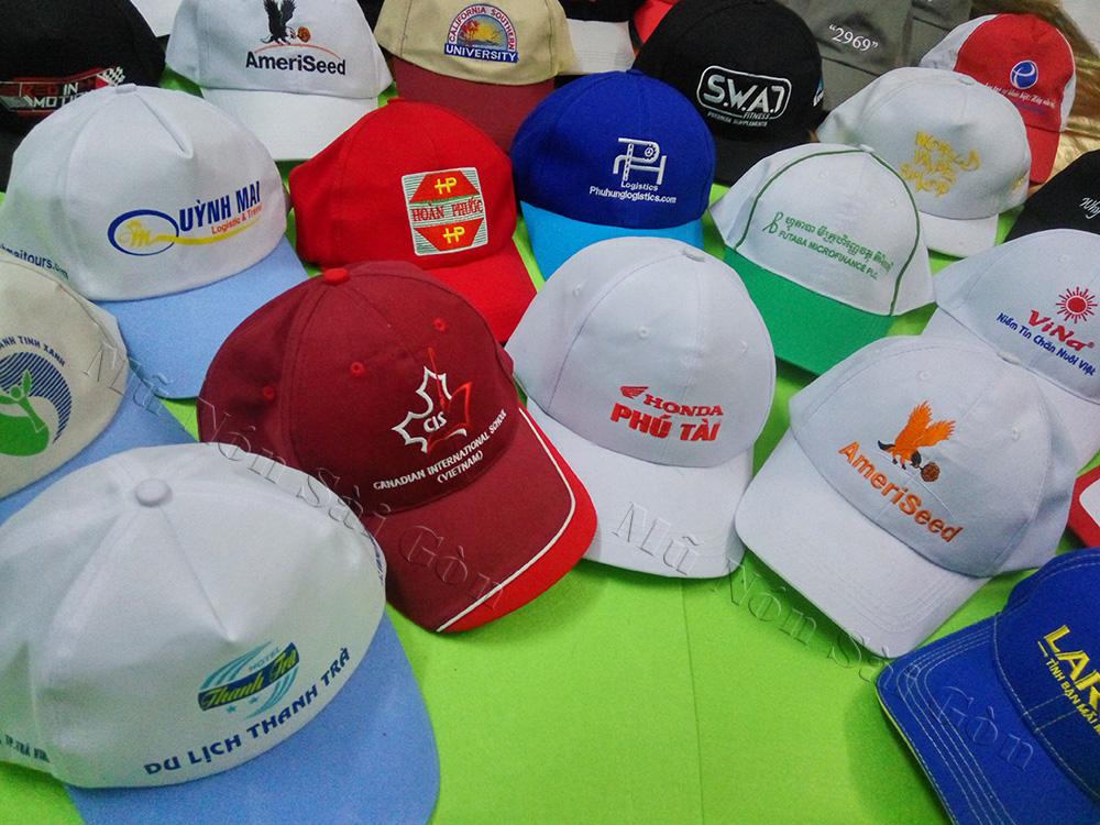 Xưởng gia công mũ nón tại HCM theo yêu cầu