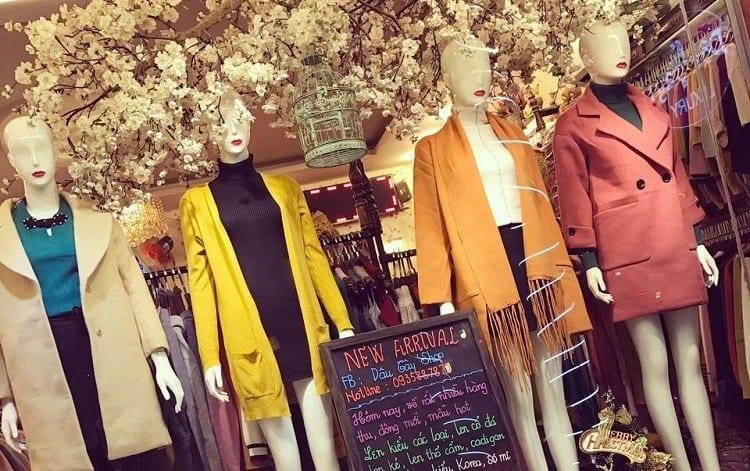 shop quần áo nữ nổi tiếng tại Huế