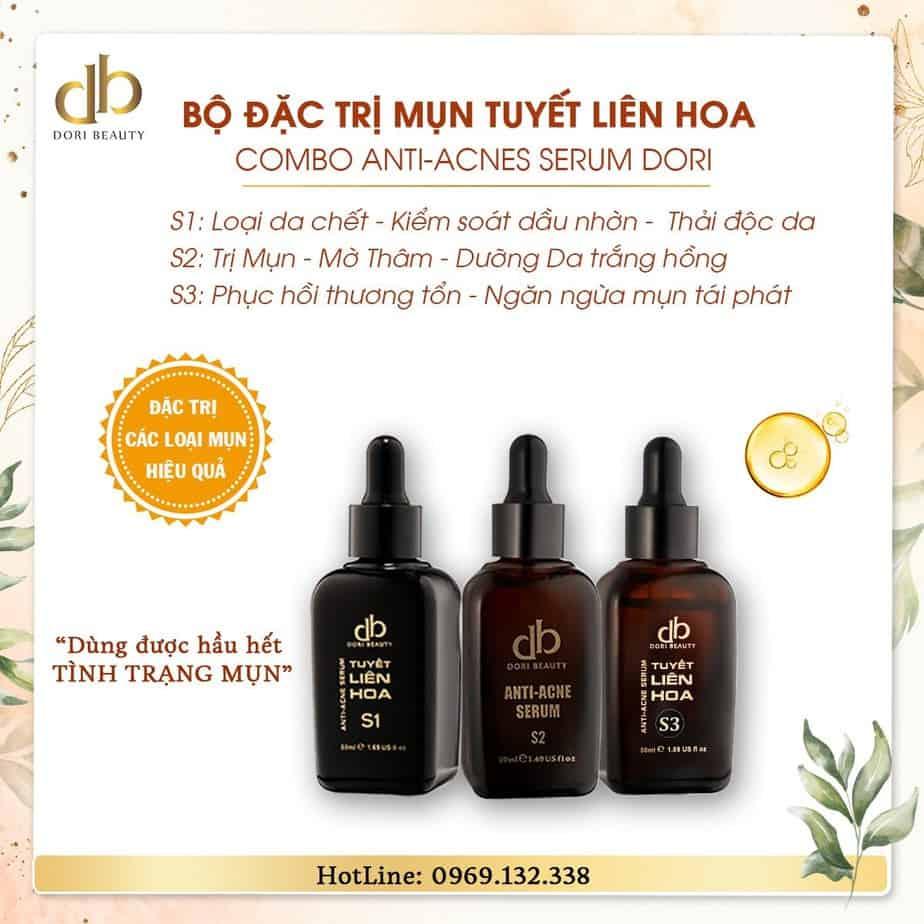 Combo Anti-acnes Serum DORI