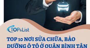 Top 10 Nơi Sửa Chữa, Bảo Dưỡng Ô Tô Ở Quận Bình Tân